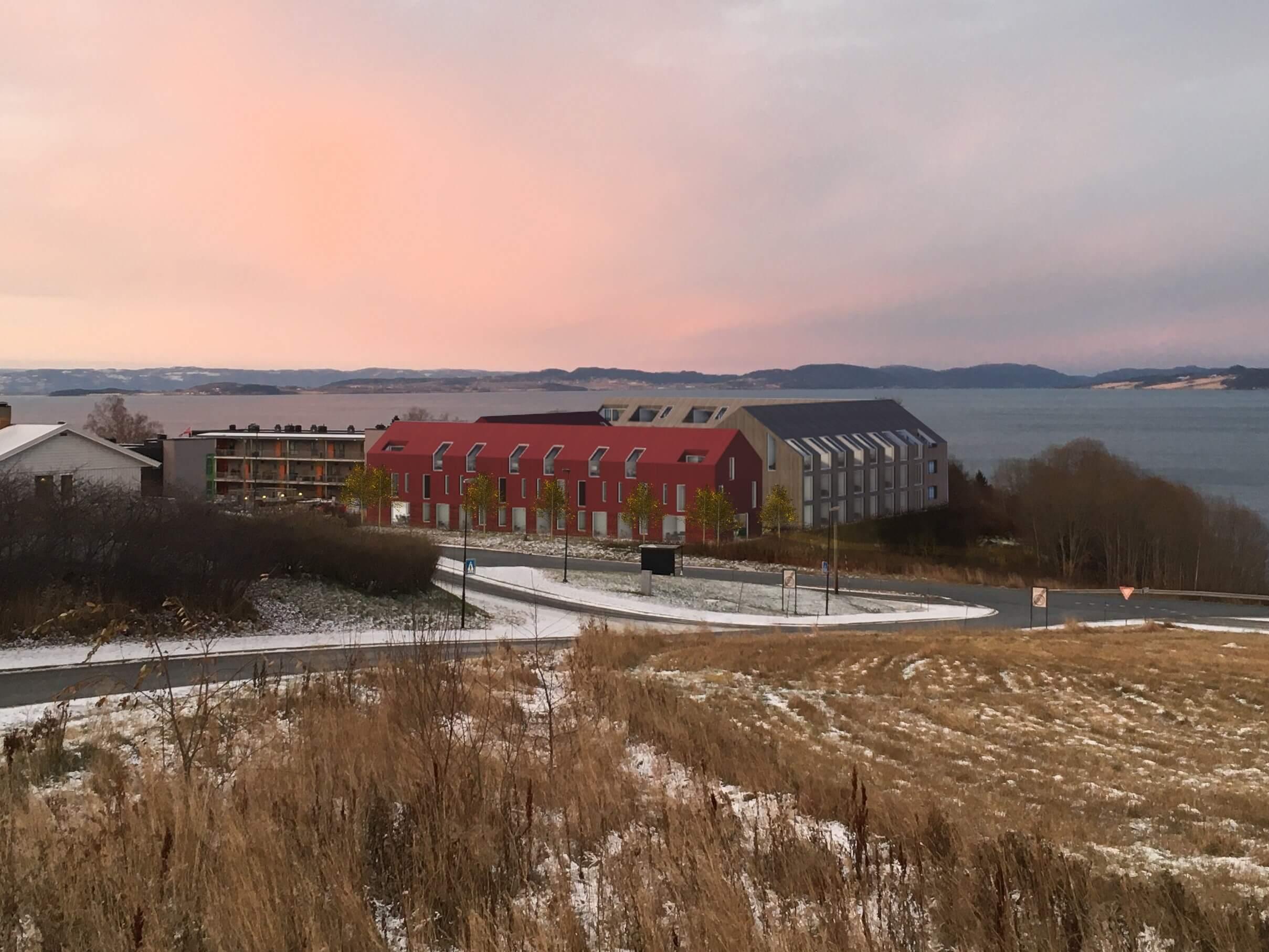 TAG Arkitekter gikk av med seieren i arkitektkonkurransen om Saksvik Øvre