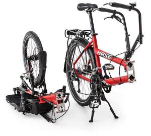 Hase sykkel, , delvis montert