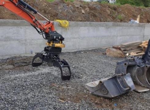 bilde av Rotoklype for steinlegging til kubota 2,7